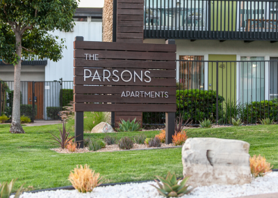the parsons apartments