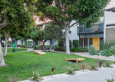 The Parsons Apartment Park area